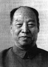 第六届全国人大常委会委员长彭真