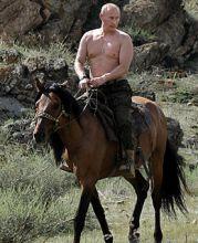 骑马的普京
