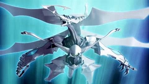 在动画《游戏王5d's》中的主角不动游星与最终敌人z-one展开对决时以