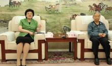 王彦峰理事长和国家卫计委李斌主任