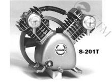 容积式压缩泵--直接依靠改变气体容积来提高气体压力的压缩泵.图片
