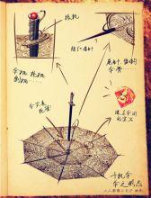 千机伞图片