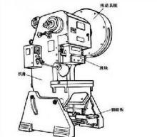 压力机结构图图片