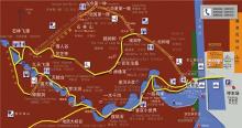 京东石林峡风景区地图