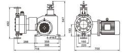jyd系列液压隔膜计量泵图片