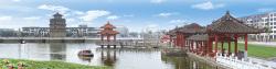 郓城唐塔公园图片