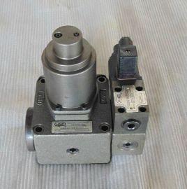 结构原理 输入信号增大,供气用电磁阀先导阀1换向,而排气用电磁先导图片