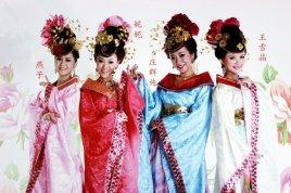 ls 四个女生新年歌 女子四人组合图片