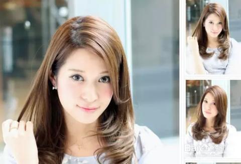长脸女生适合的发型图片
