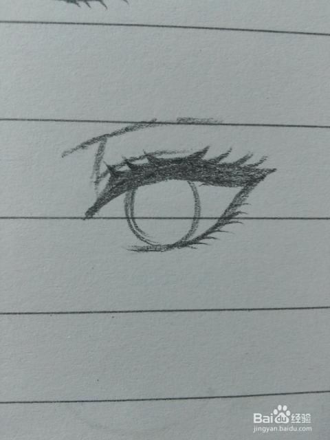 怎样才能把动漫人物的眼睛画好呢,作为新手,画好头部以后就不知道怎么图片