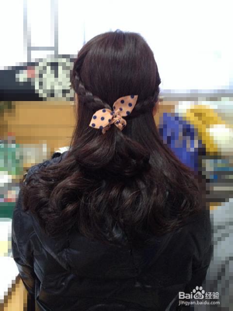 简单发型—麻花辫图片