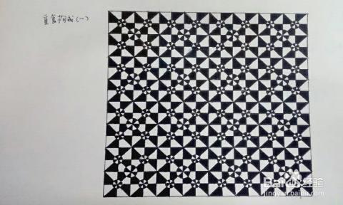 怎样画平面构成作业及图片详解