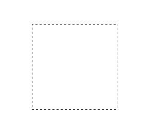 绘制出了的是正方形虚线框图片