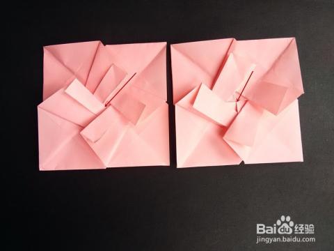 简易信封的折法