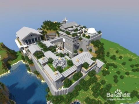 我的世界别墅设计图图片