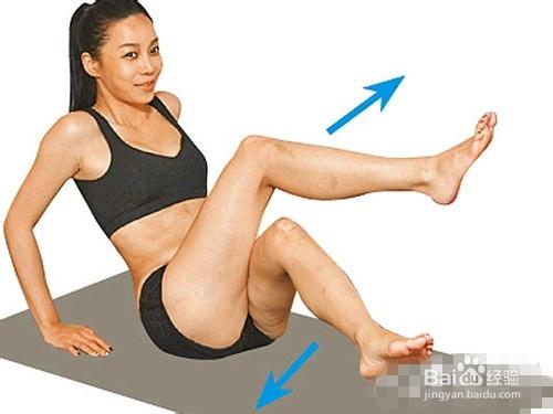 学模特瘦腿 轻松5步实现完美身材