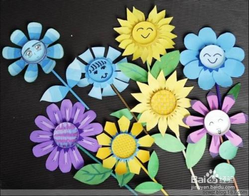 纸杯花的制作方法图片