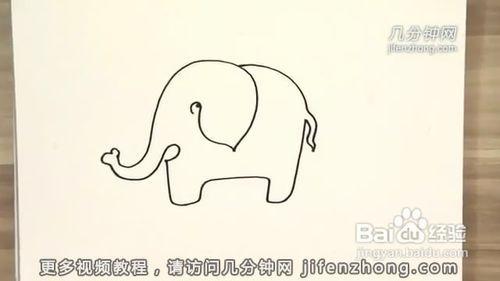 线切割图形简单图片_儿童一笔画动物图形儿童蒙纸一 ...
