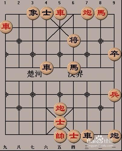 手工/爱好 > 书画/音乐  1 首先摆好中国象棋基本战术:闪将之一的棋谱图片
