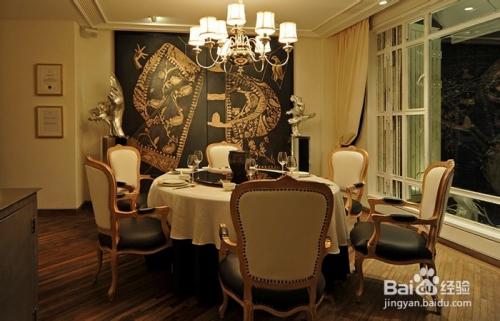 简约美式餐厅包房灯具图片