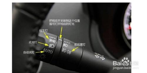 灯光效果 雪铁龙灯光使用图解 捷达车灯光使用图解高清图片