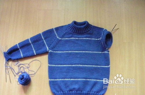 儿童毛衣编织教程图片