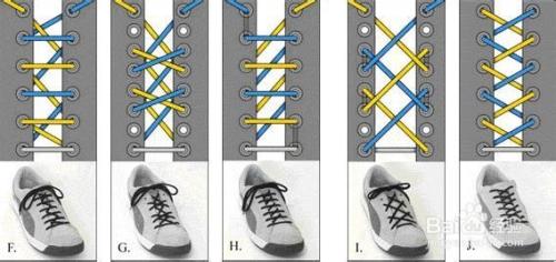 【鞋带的13种系法】彰显个性!图片