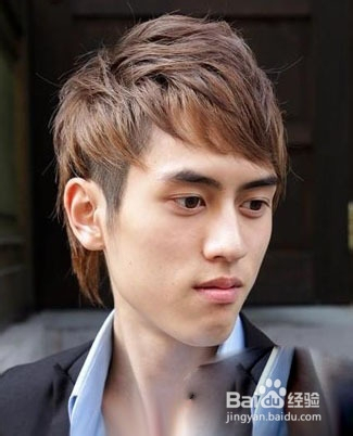 高额头 头发少发型图男生窄额头适合的发型额头高头发少适合发型额头