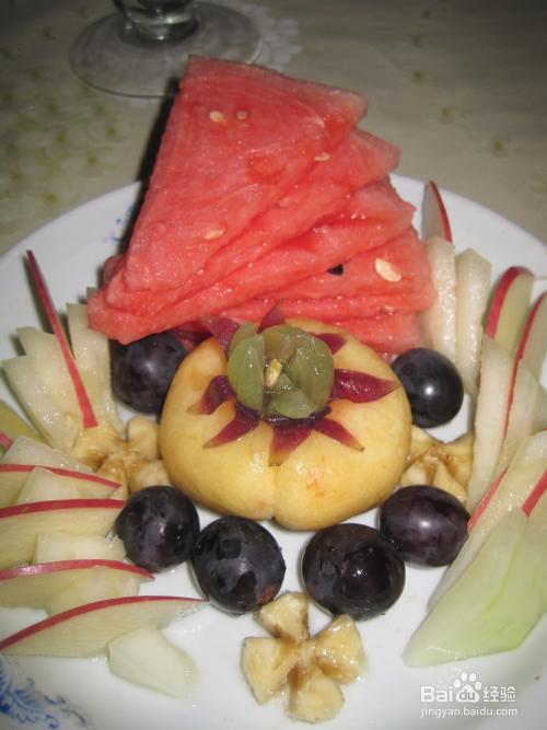 夏日水果拼盘的做法