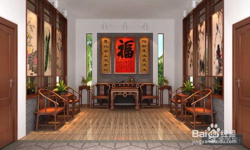 新民居的室内设计农村理念一层三间小平房设计图图片