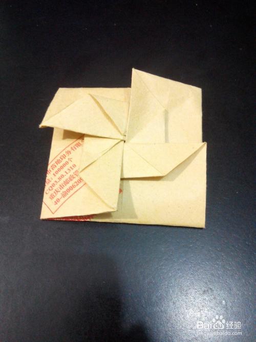 纸折风车信纸图片