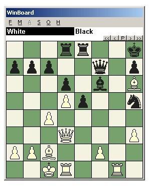 国际象棋教程四十:以堵截为主题的战术组合图片