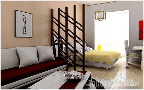 2013最新客厅卧室隔断效果图