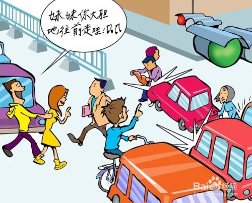过年#在小城市如何遵守交通规则保证生命安全图片