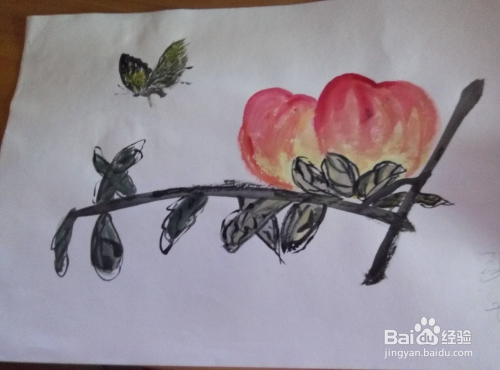 怎样使用水彩笔画好简单画