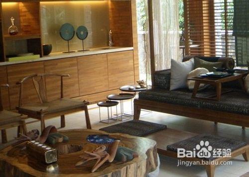 二楼卧室  【装修案例分析】:休闲区和洗漱区的结合,现代材质的对比运图片