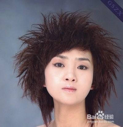 今年短发流行锡纸烫图片 2014流行短发烫发发型图片