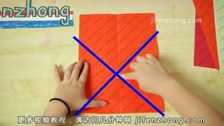 怎样折信纸上的千纸鹤图片