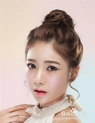 2016年流行新娘造型 最新韩式新娘发型图片