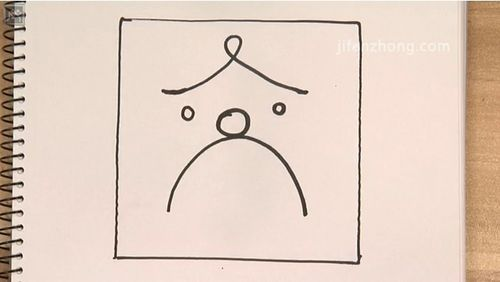 正方形简笔画之囚犯图片