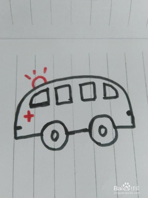 各种车的简笔画图片