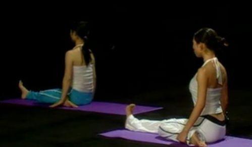 视频教程瘦腿动作瑜伽中学生减脂v视频计划表图片