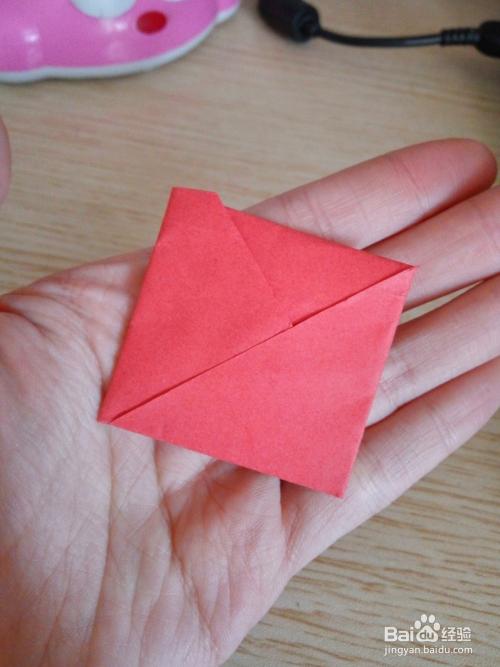 折花式信纸—b的折法(8)图片