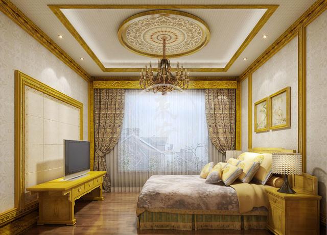 金丝楠精致中式室内设计实景效果图欣赏图片