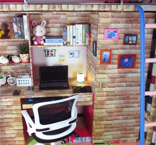 图看大学生改装的宿舍:度假般的享受,创意与奢华并存图片