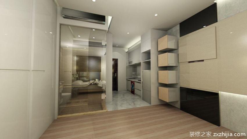 2016素雅大方中式玄关装修设计_装修之家装修效果图图片