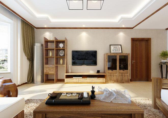 12个现代中式客厅装修效果图 古典式时尚_12个现代中式客厅装修效果图图片