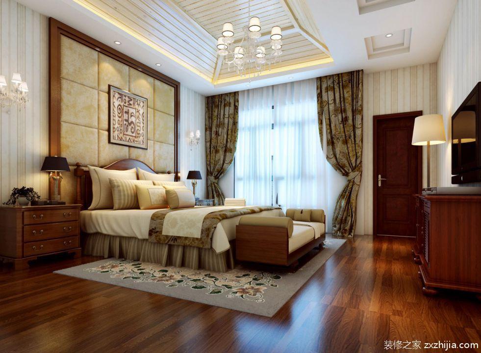 欧式经典三居室客厅装修效果图欣赏_装修之家装修效果图图片