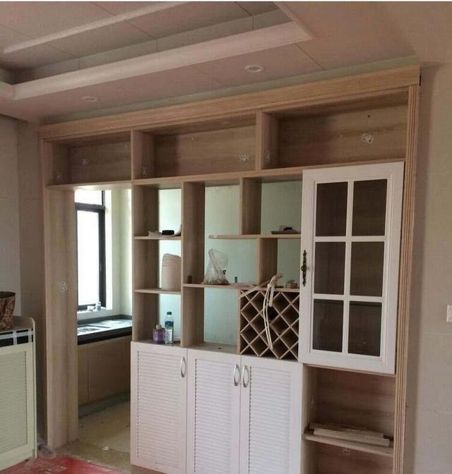 2房1厅全屋柜子装修完毕,花10万大家看值吗?(实景拍摄)图片