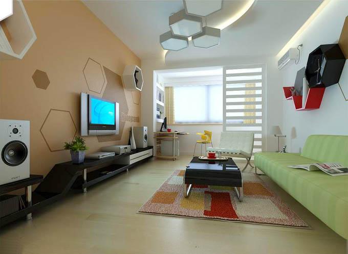 家装图片-美式客厅装修效果图图片